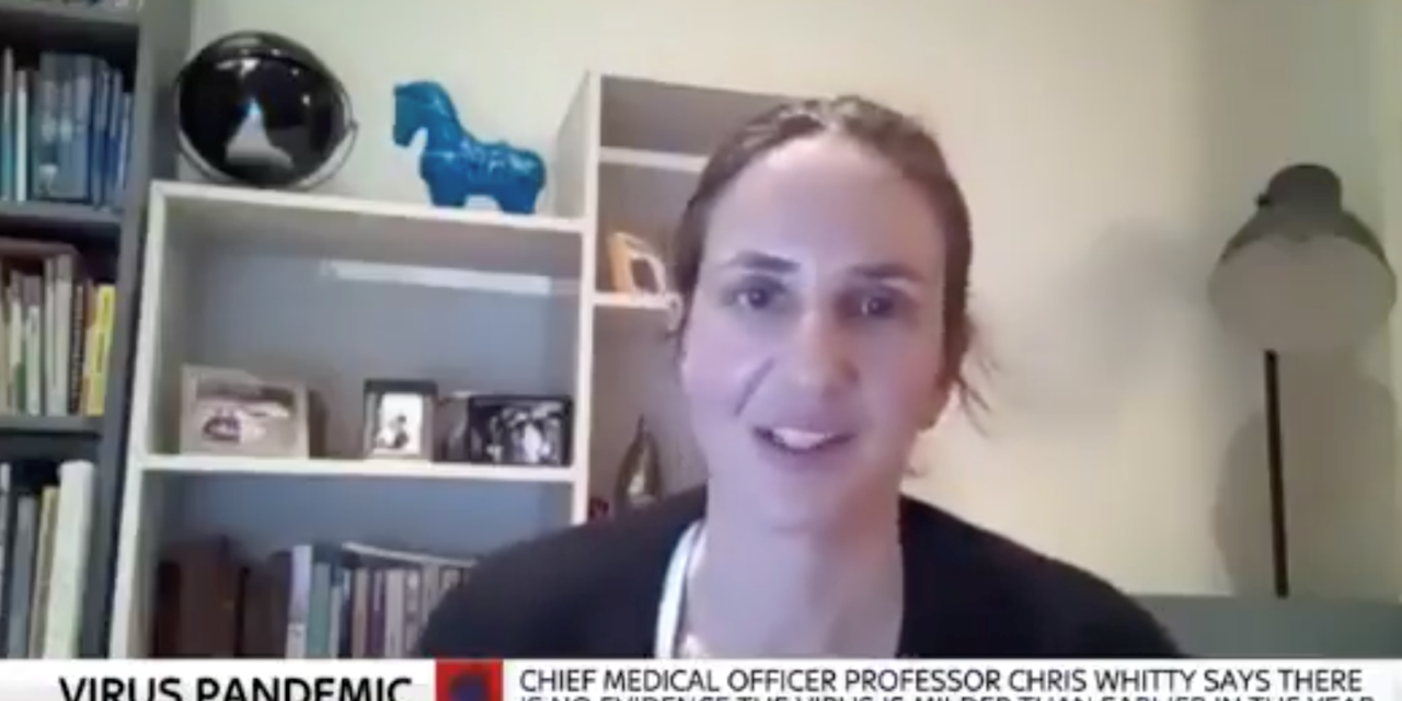 "Christina Pagel on Sky News discussing ""herd immunity"""