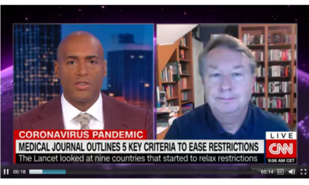 Martin McKee interviewed on CNN