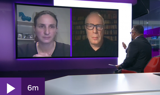 Christina Pagel & Stephen Reicher discussing circuit breakers on Channel 4 news