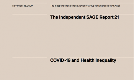 COVID-19 and health inequality