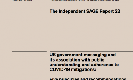 UK government messaging on Covid-19: Five principles and recommendations for a COVID communication reset