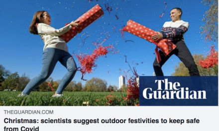 'safer Winter Celebrations' report featured in The guardian