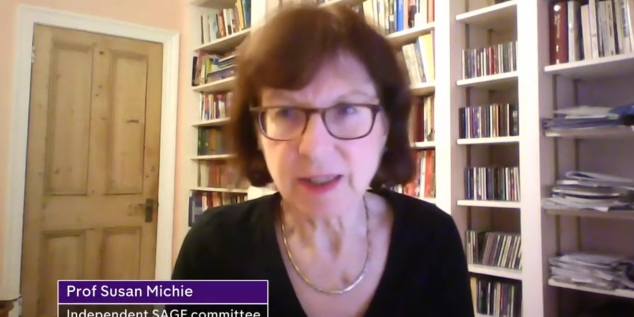 susan Michie interview on CHannel 4 News about next steps