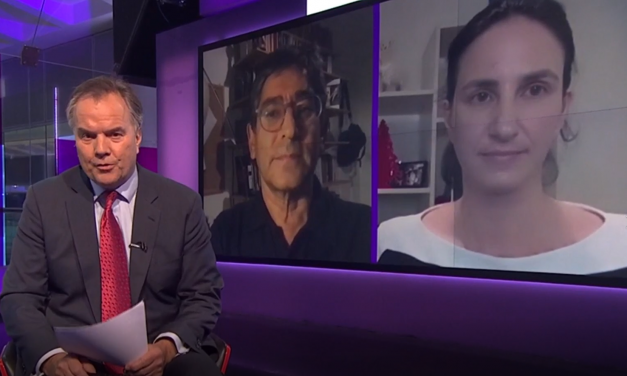 Deenan Pillay and Christina Pagel interviewed together on Channel 4 News