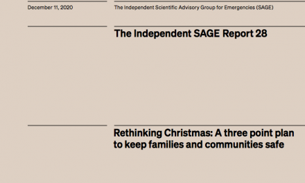 Rethinking Christmas: A three point plan to keep families and communities safe