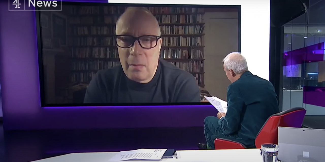 Professor stephen REicher interview on Channel 4 news about Christmas