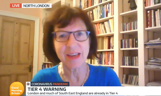 Susan Michie talks to GOod MOrning Britain about Tier 4
