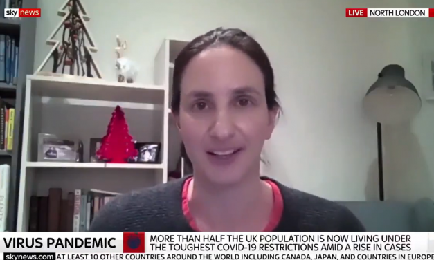 Christina Pagel talks to Sky News about current Covid situation