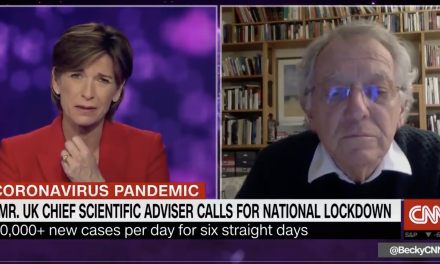 Sir David King gives his views on government response to pandemic on CNN