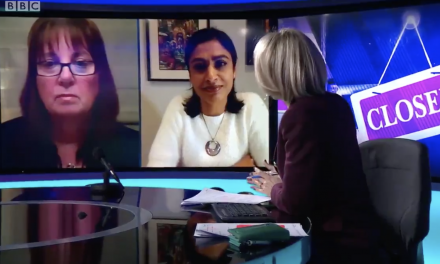 DR Zubaida Haque interviewed on BBC newsnight about the need to support people to self-isolate