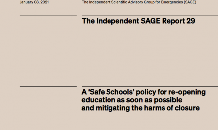 A 'Safe Schools' policy for re-opening education as soon as possible and mitigating the harms of closure