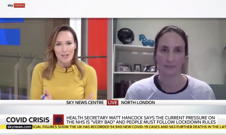 christina pagel on sky news discussing lockdown compliance and mass testing