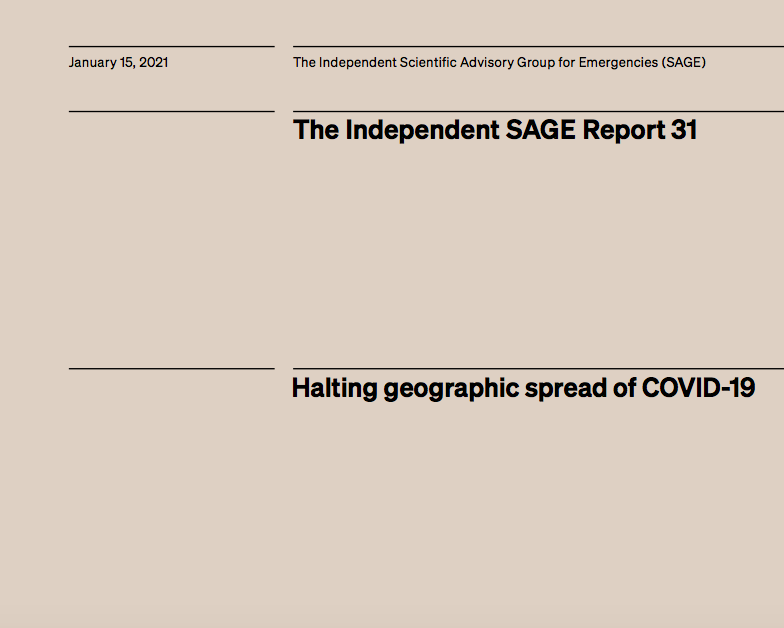Halting geographic spread of COVID-19