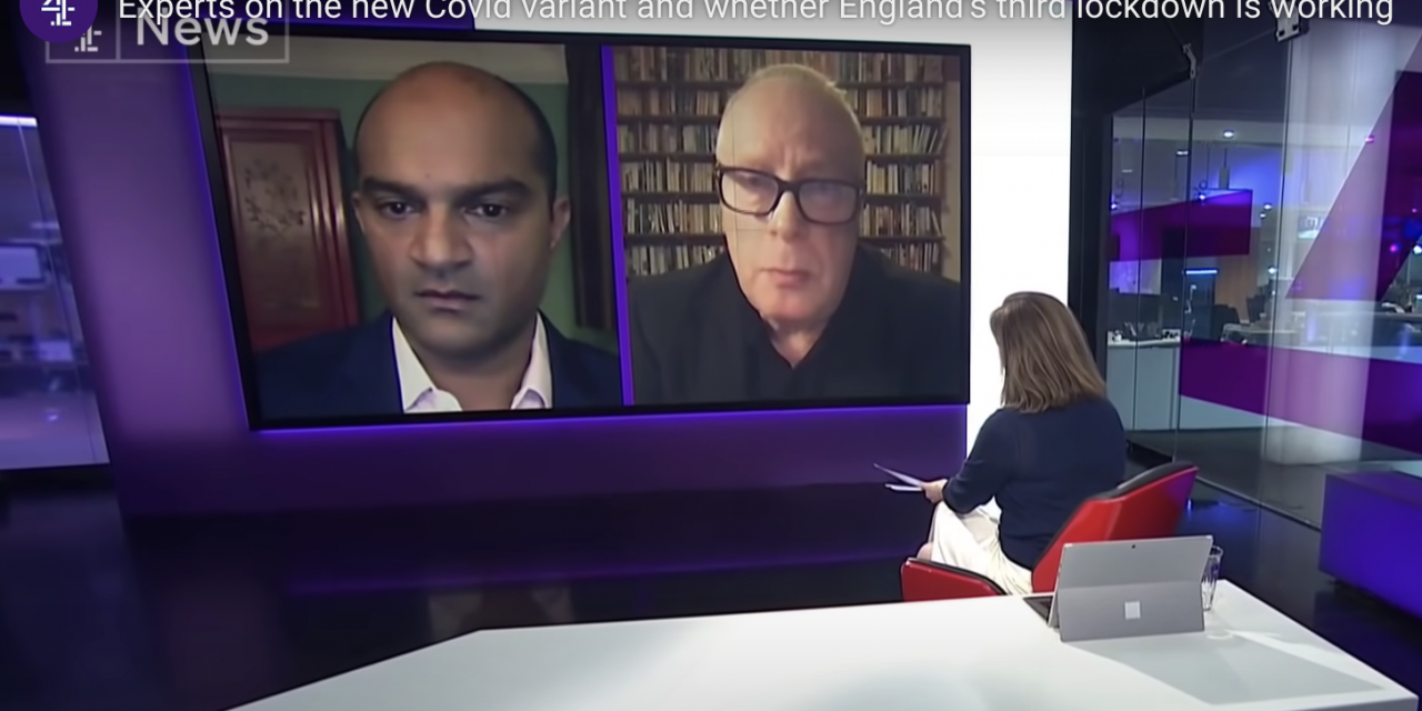 Stephen reicher discusses public adherence to lockdown on channel 4 news