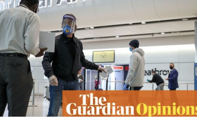 A partial quarantine scheme will not work: Gabriel scally opinion piece in the Guardian