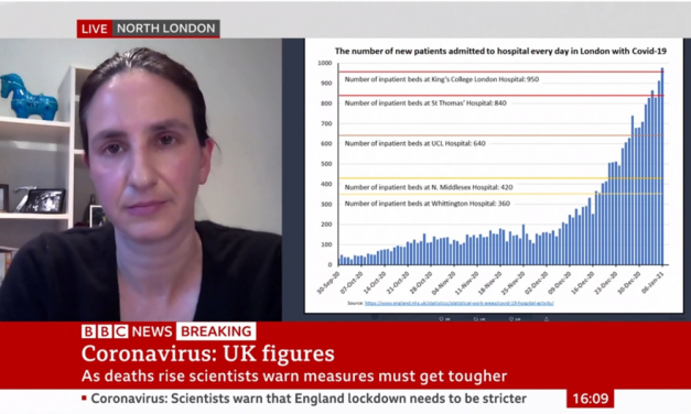 Christina Pagel talks to BBC News about the NHS and Lockdown