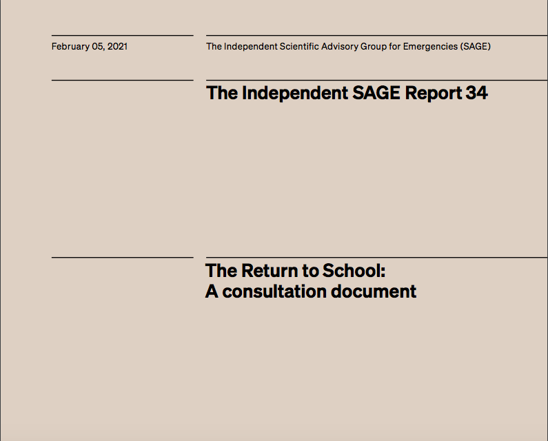 The Return to School: A consultation document