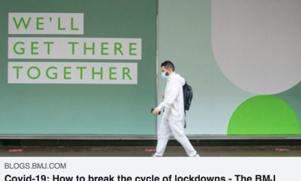 How to break the cycle of lockdowns: Christina pagel opinion piece in the BMJ