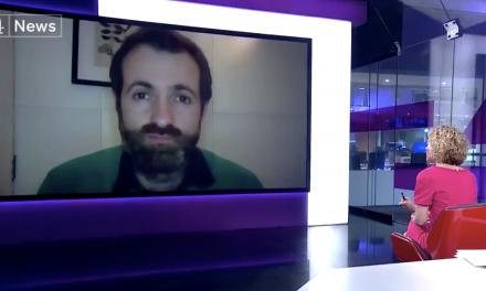 Dr Kit Yates interviewed on channel 4 news
