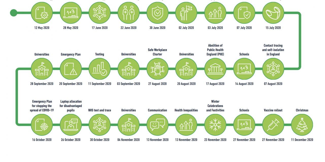 Timeline of independent sage reports