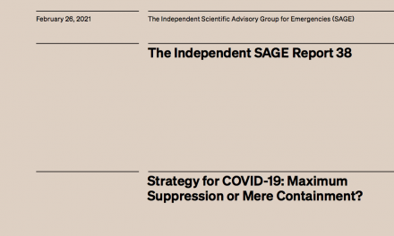 Strategy for COVID-19: Maximum Suppression or Mere Containment?