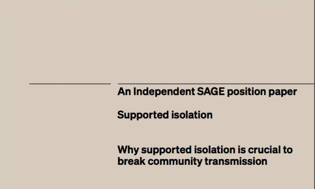 Why supported isolation is crucial to break community transmission