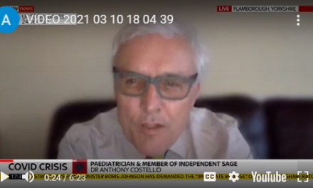 ANthony Costello talks to Sky News about Test and Trace