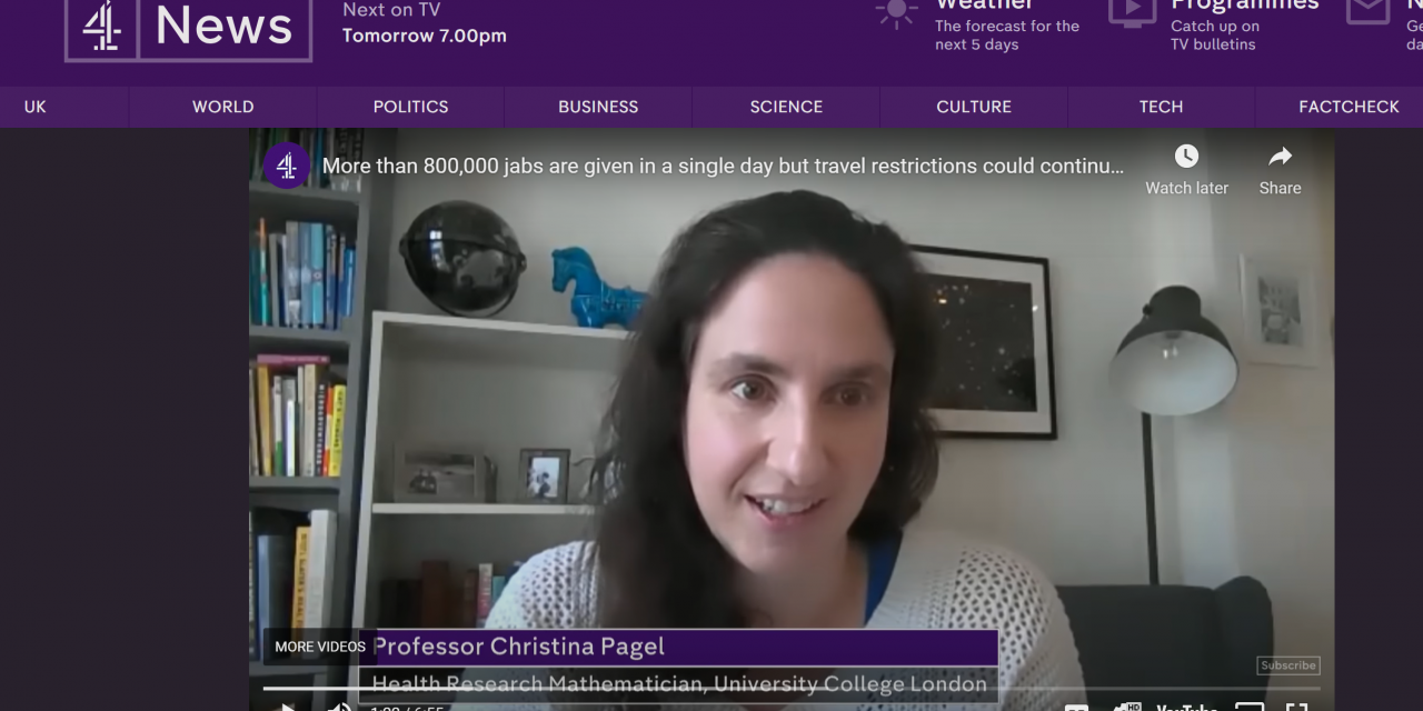 Christina Pagel talks to Channel 4 News about the new wave in Europe and what it means for the UK