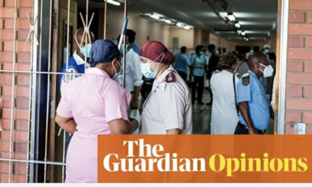 why we need vaccine patent waivers: Gabriel scally in the guardian