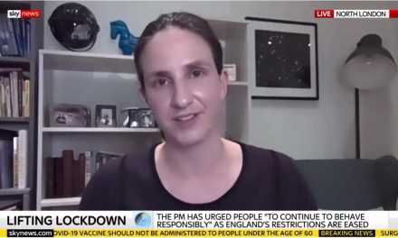Christina Pagel talks to Sky News about variants and the roadmap