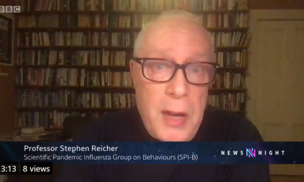 Steve Reicher talks to Newsnight about AZ vaccine