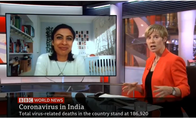 Zubaida Haque talks to BBC about the situation in India