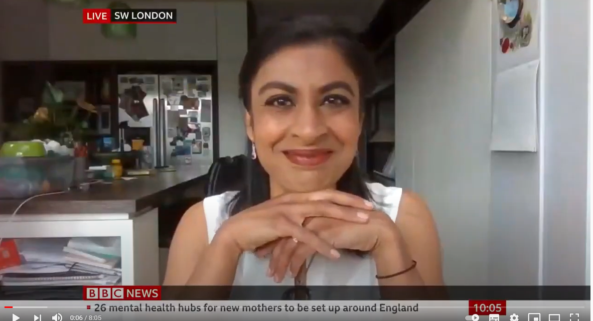 VACCINE PASSPORTS: Dr Zubaida Haque ON BBC News