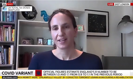 Christina Pagel talks to Sky News about Step 4 of the roadmap