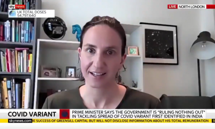Christina Pagel talks to Sky NEws about the new variant of Concern