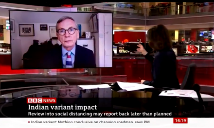 Gabriel Scally talks to the BBC about the new variant of concern
