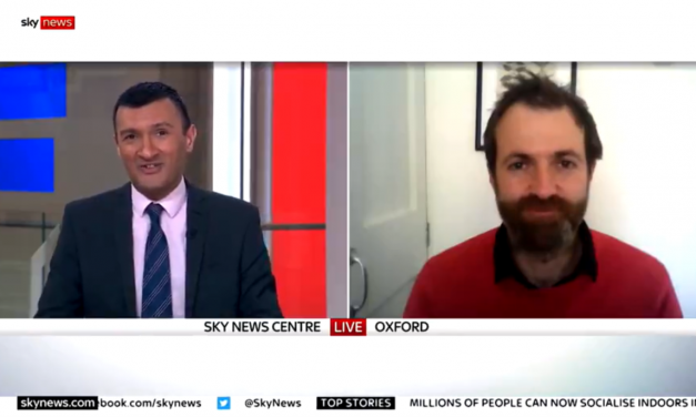 Kit Yates talks to Sky News about Stage 3 of the Roadmap