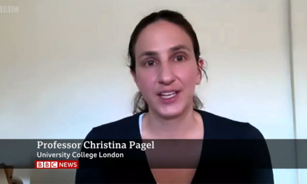 Christina Pagel talks to BBC One News