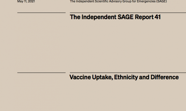 Vaccine Uptake, Ethnicity and Difference