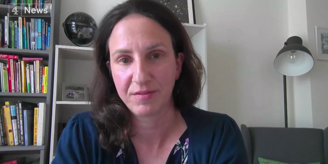 christina pagel talks to channel 4 about the risks of holding the euro finals at wembley