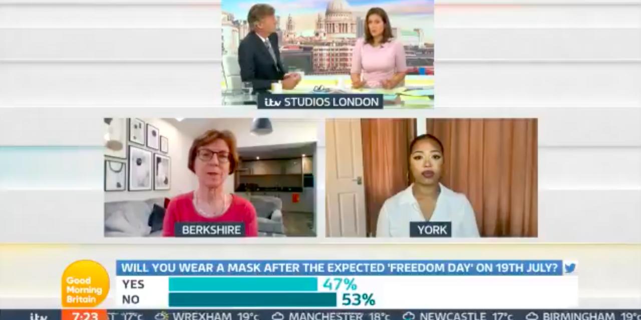 SUSAN MICHIE SPEAKS TO GOOD MORNING BRITAIN