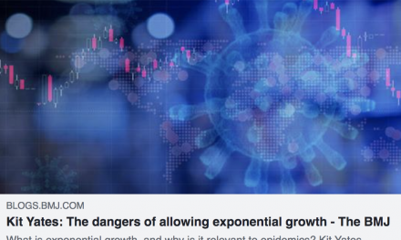 Kit Yates writes on the 'terrifying power' of exponential growth in BMJ