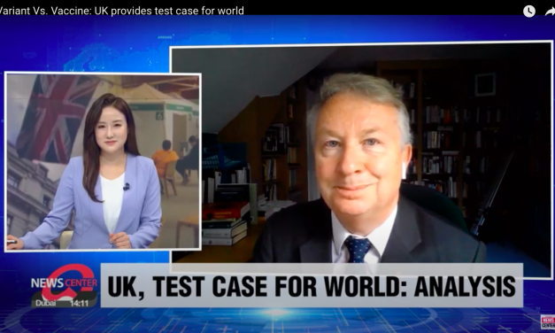 martin mckee talks to arirang news centre