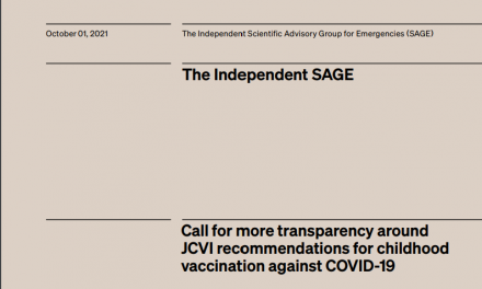 Call for more transparency around JCVI recommendations for childhood vaccination against COVID-19